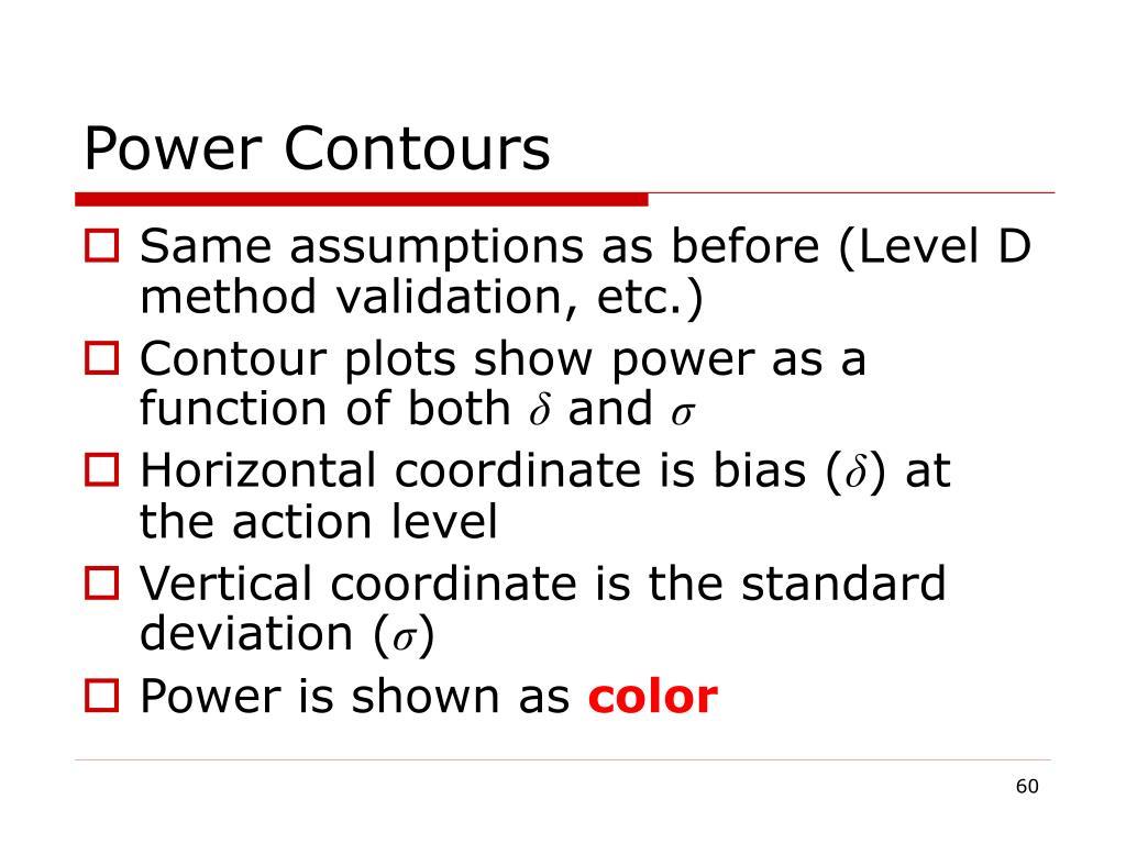 Power Contours