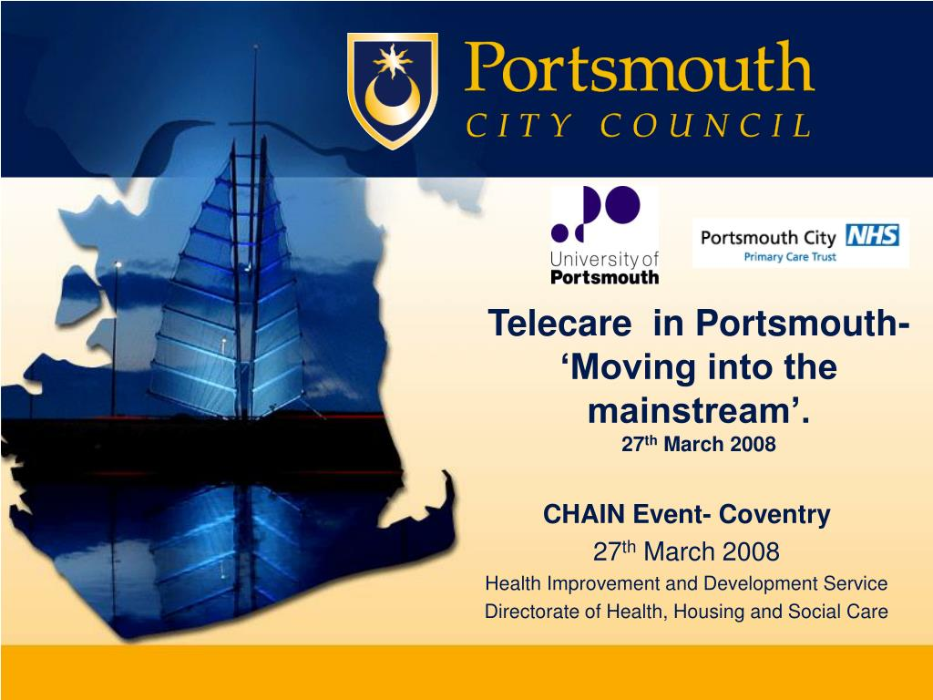 Telecare  in Portsmouth-