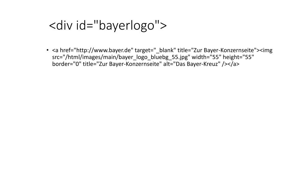 "<div id=""bayerlogo"">"
