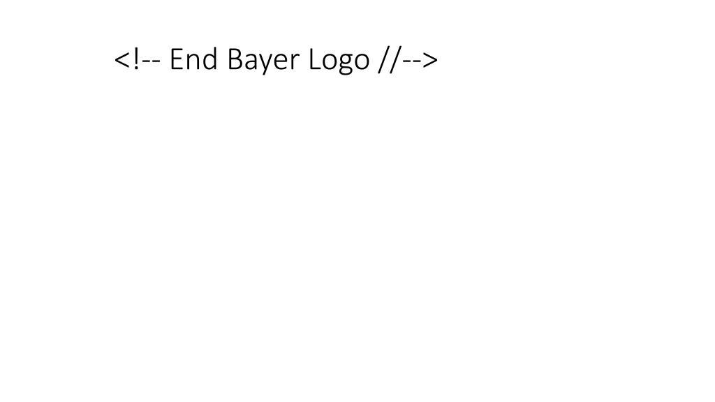 <!-- End Bayer Logo //-->