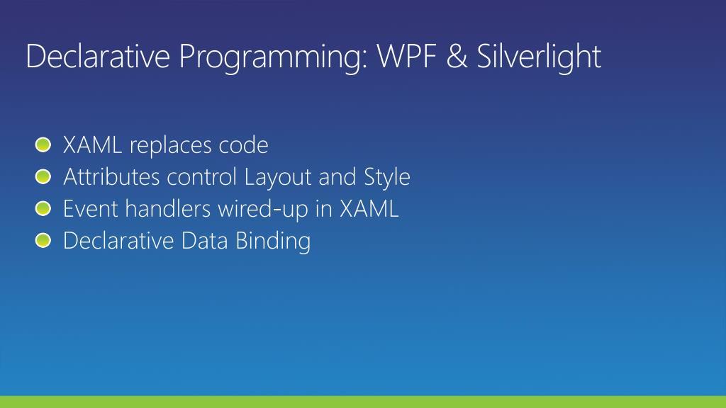 Declarative Programming: