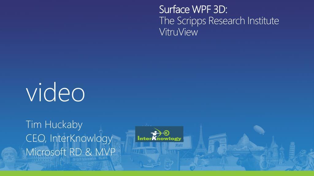 Surface WPF 3D: