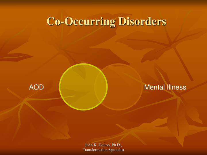 Co occurring disorders