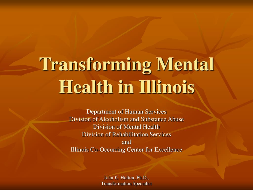 Transforming Mental Health in Illinois