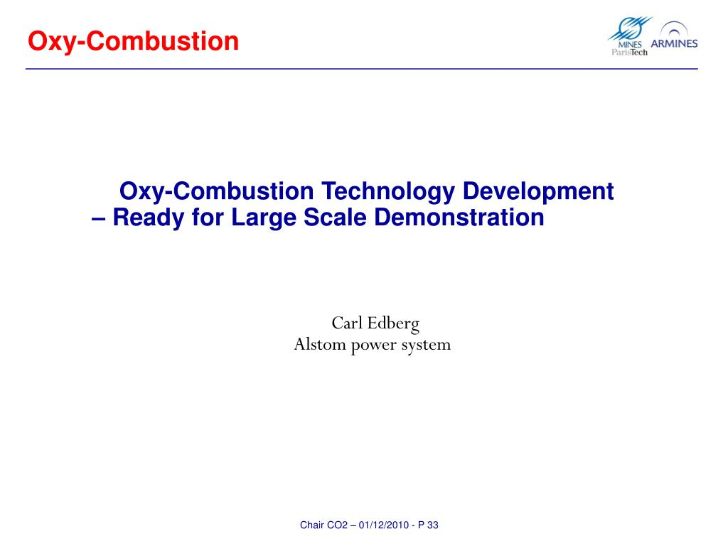 Oxy-Combustion
