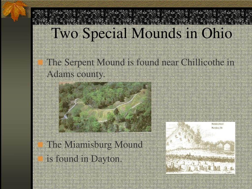 Two Special Mounds in Ohio
