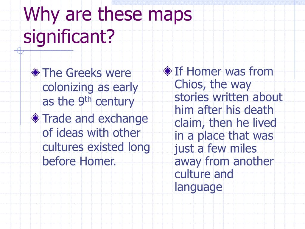 The Greeks were colonizing as early as the 9