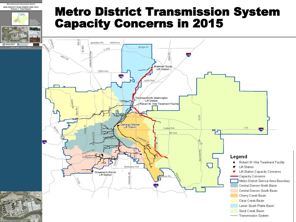 Metro District Transmission System Capacity Concerns in 2015