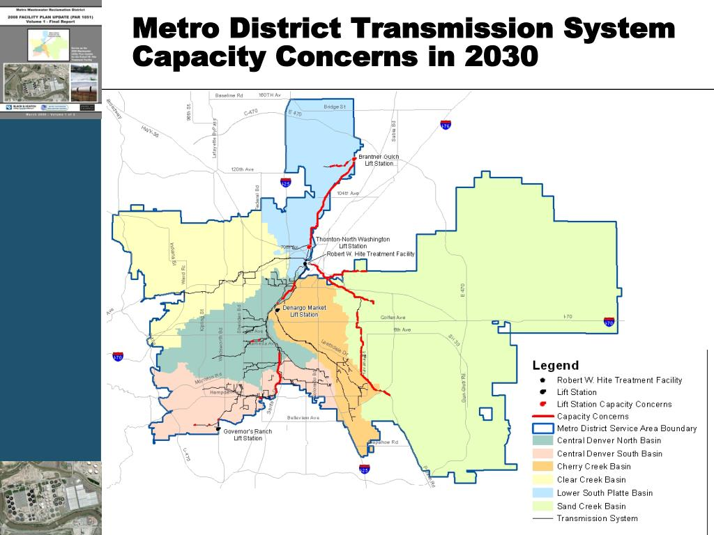 Metro District Transmission System Capacity Concerns in 2030