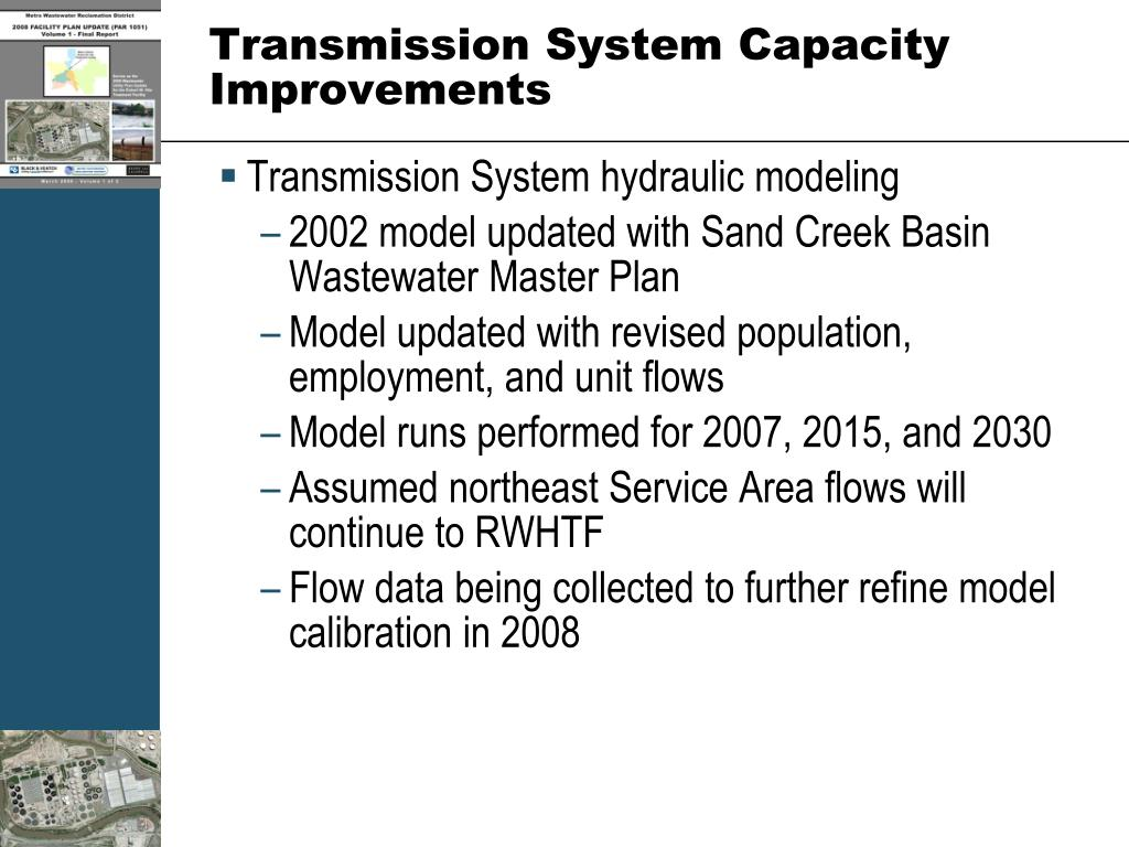 Transmission System Capacity Improvements