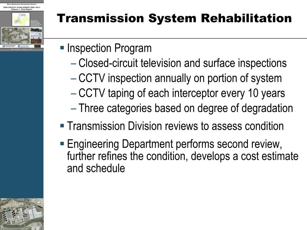 Transmission System Rehabilitation