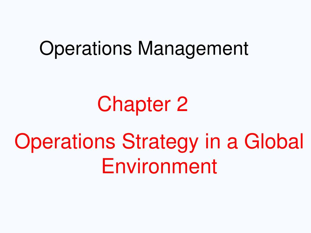 global operations management 81715 global operations management school of global innovation & leadership bt 450 (408) 924-6880 requirements general education: 48-51 units.