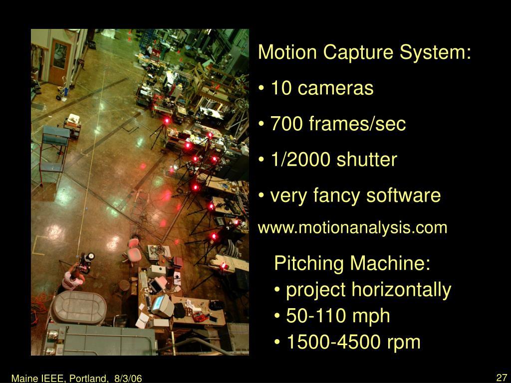 Motion Capture System: