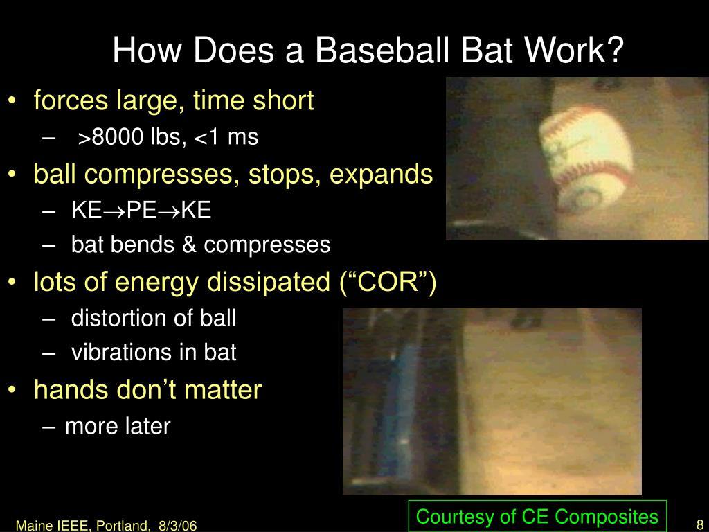 How Does a Baseball Bat Work?