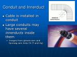 conduit and innerduct