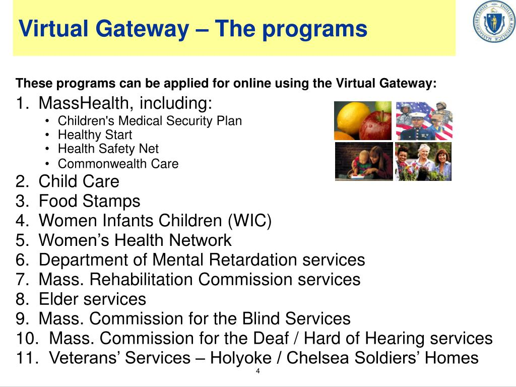 Virtual Gateway – The programs