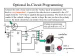 optional in circuit programming