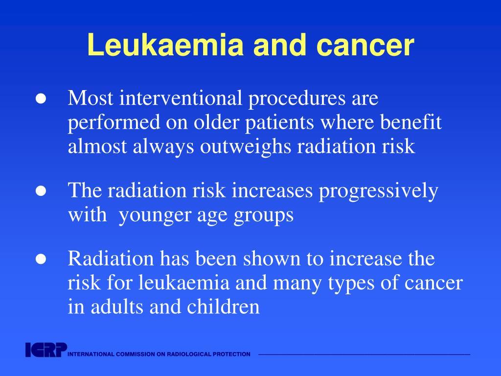 Leukaemia and cancer