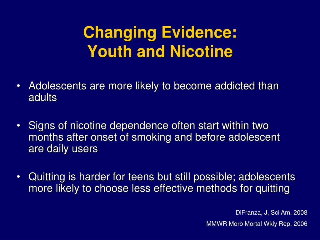Changing Evidence: