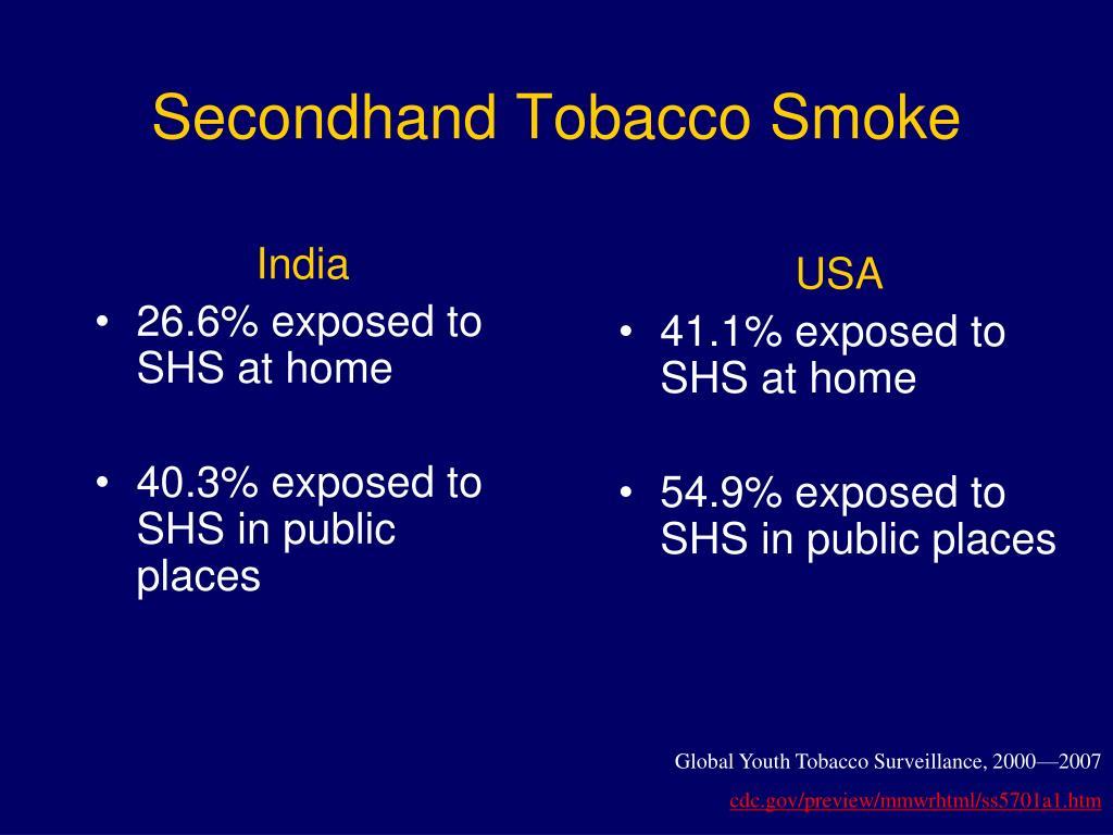 Secondhand Tobacco Smoke