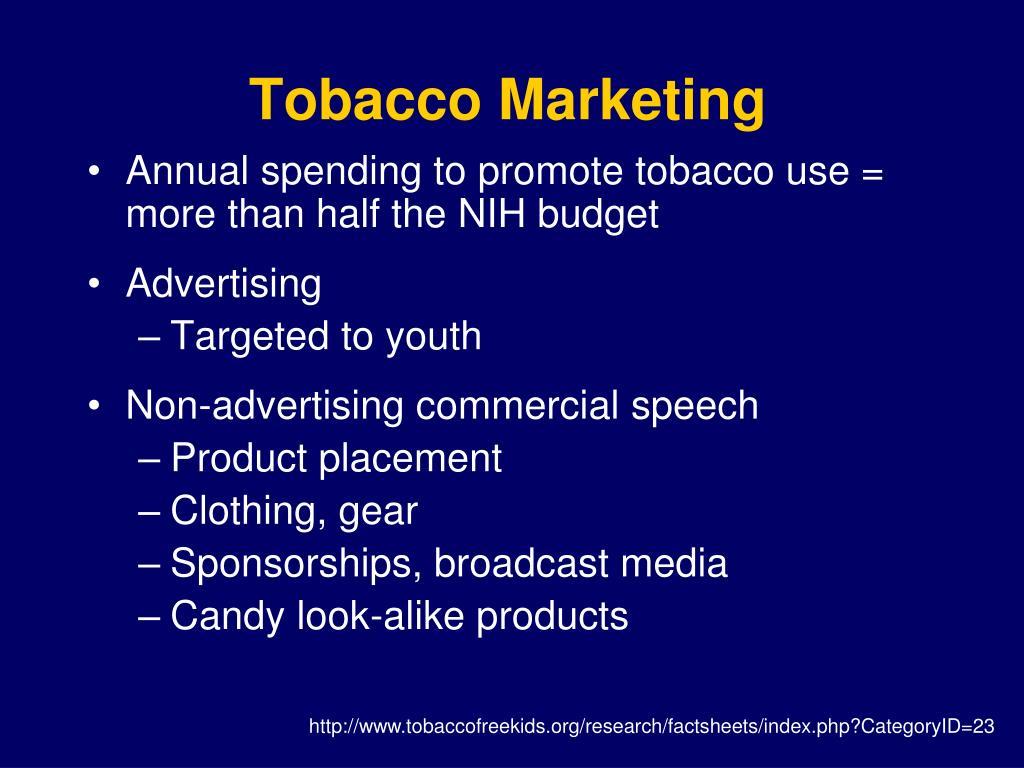 Tobacco Marketing