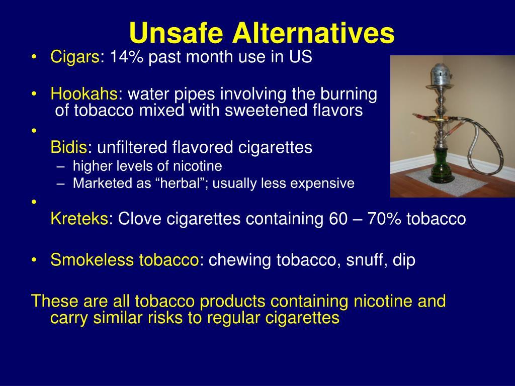 Unsafe Alternatives