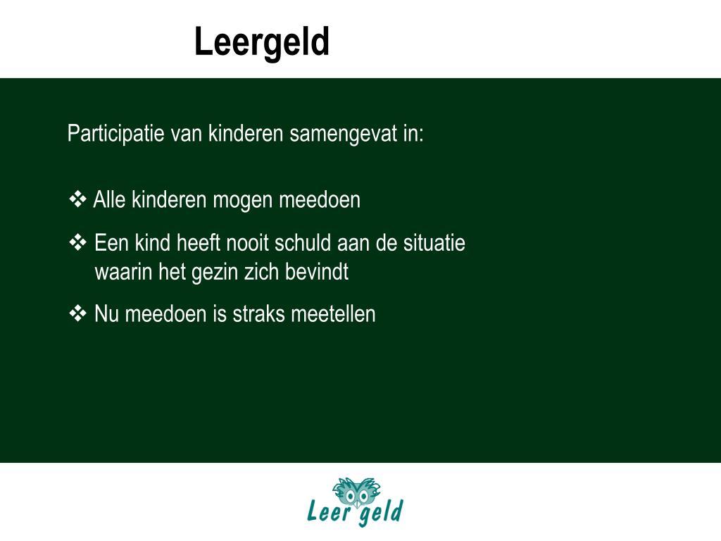 LEERGELD