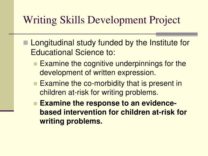 Writing Skills Development Project