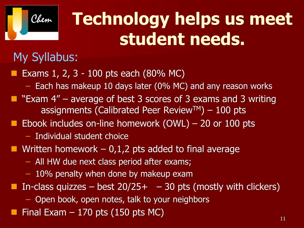 Technology helps us meet student needs.