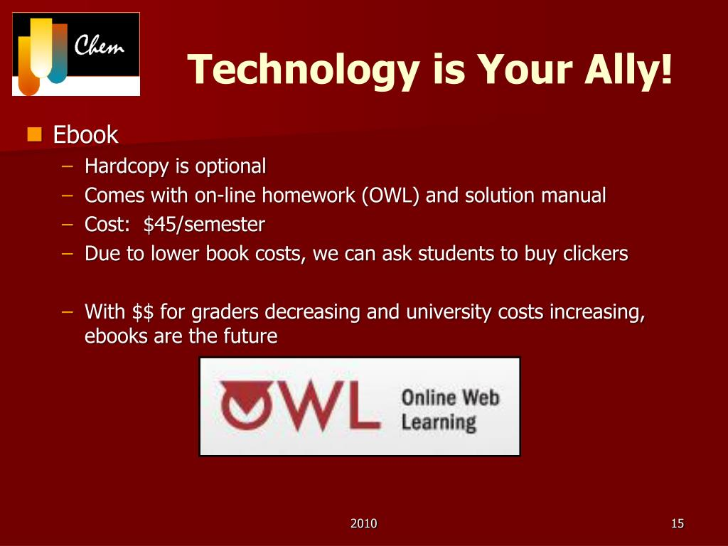 Technology is Your Ally!