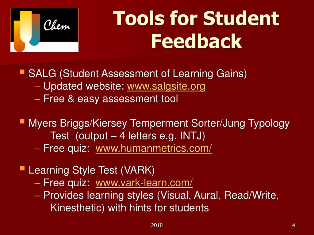 Tools for Student