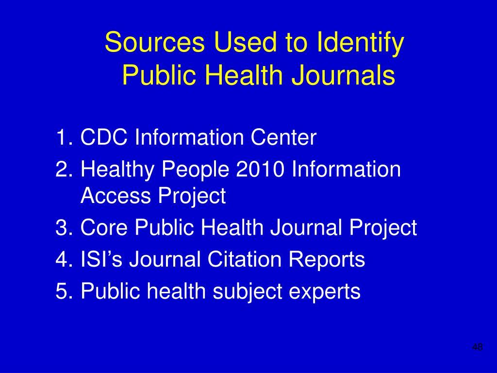 CDC Information Center