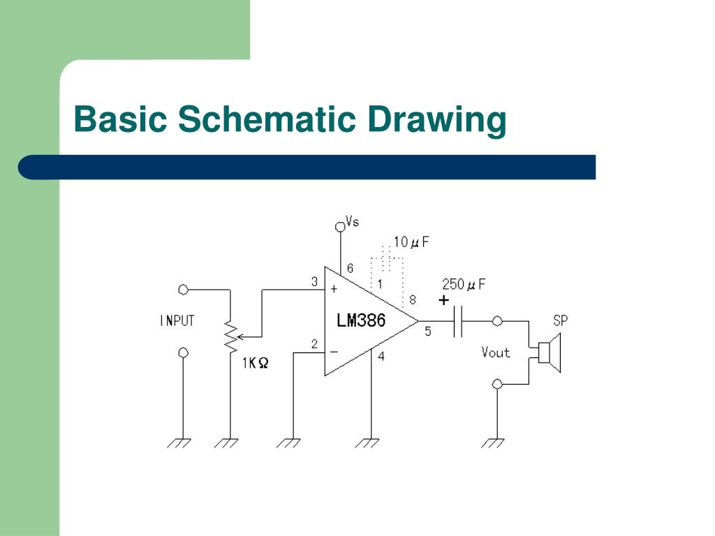 Basic Schematic Drawing