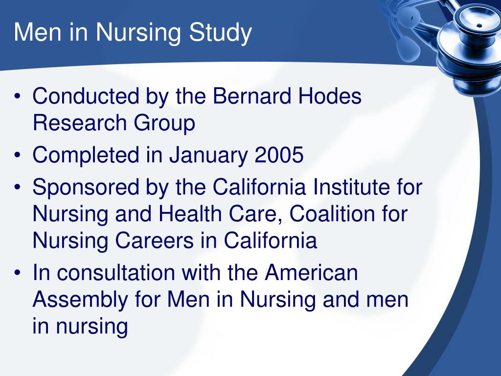 Men in Nursing Study