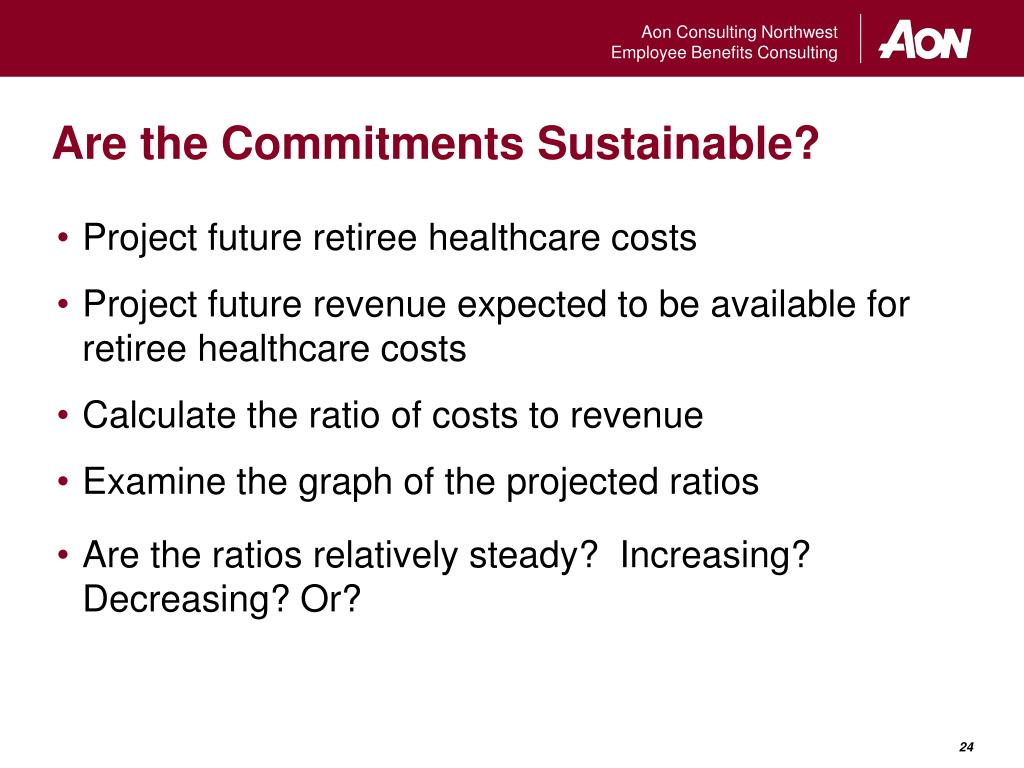 Are the Commitments Sustainable?