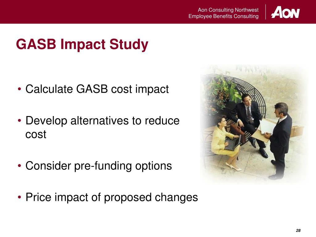 GASB Impact Study