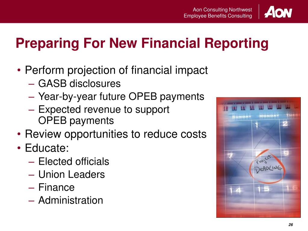 Preparing For New Financial Reporting