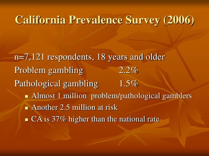 California Prevalence S