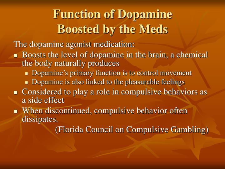 Function of Dopamine
