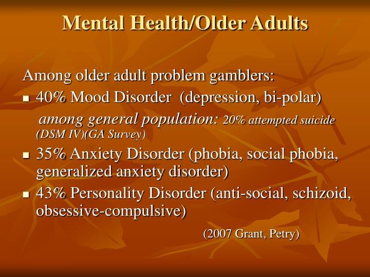 Mental Health/Older Adults