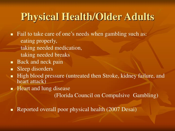 Physical Health/Older Adults