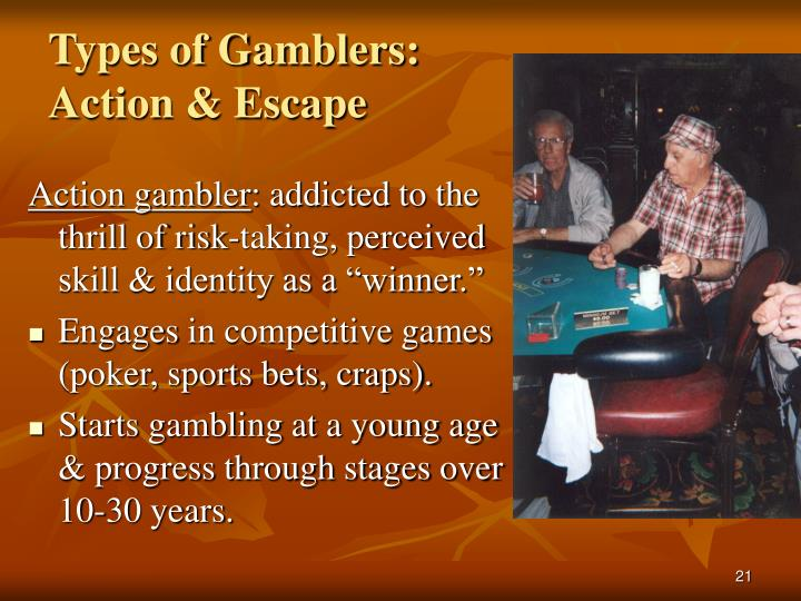 Types of Gamblers: