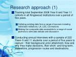 research approach 1