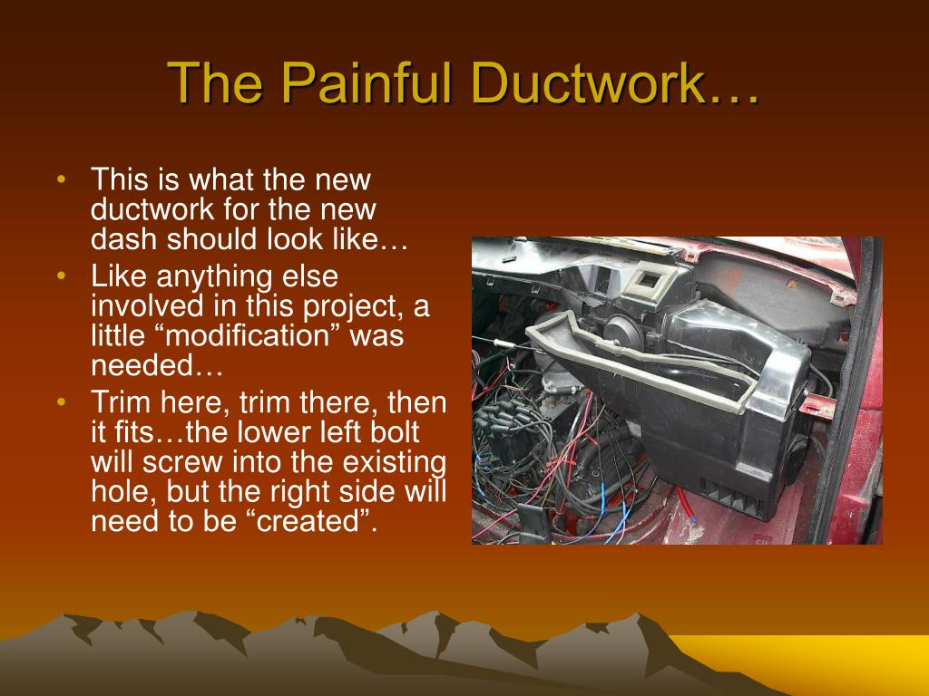 The Painful Ductwork…