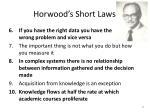 horwood s short laws15