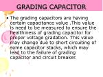 grading capacitor