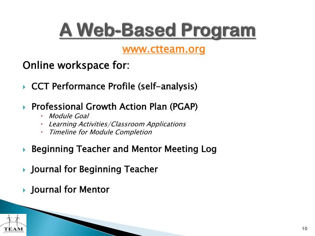 A Web-Based Program