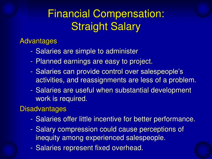 motivating japanese salespeople straight salary or commission