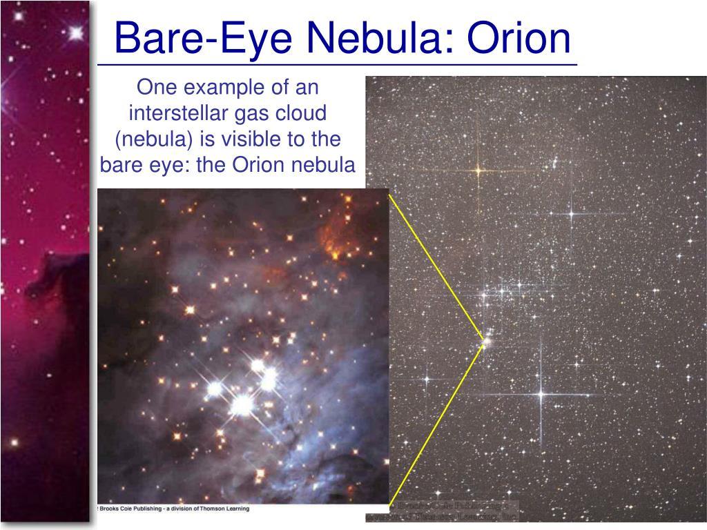 Bare-Eye Nebula: Orion