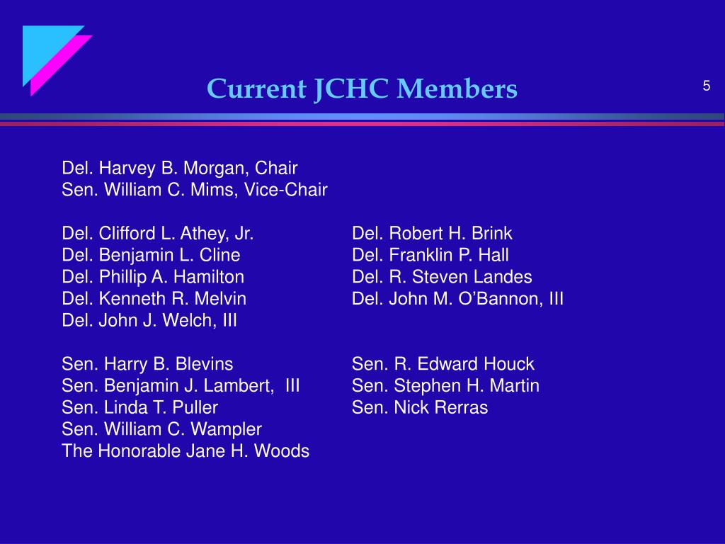 Current JCHC Members